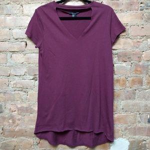 Wine t-shirt dress